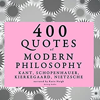 400 Quotes of Modern Philosophy audiobook cover art