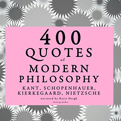 Couverture de 400 Quotes of Modern Philosophy