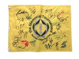 MEMORIAL TOURNAMENT FIELD FLAG SIGNED AUTOGRAPH A - VIJAY SINGH, BUBBA WATSON ++
