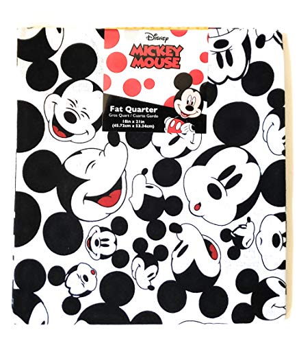 Mickey Mouse Fat Quarter (18 x 21)