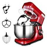 MURENKING MK-55 Food Stand Mixer, 1200W 8-Speed 5.5L Electric Dough Blender with Double