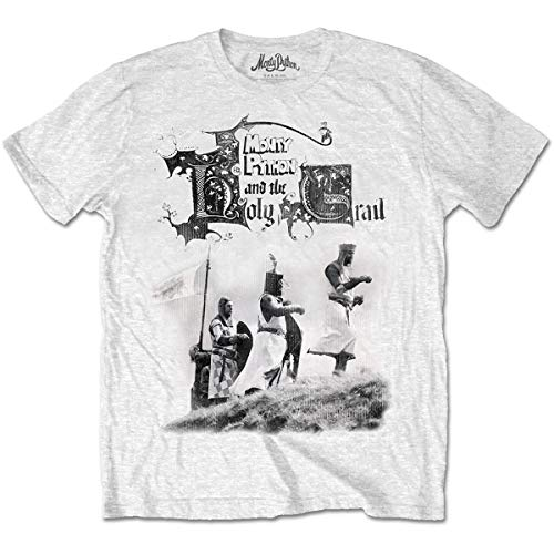 T-Shirt # XL White Unisex # Knight Riders [Import Anglais]