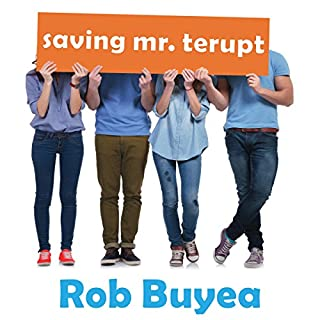 Saving Mr. Terupt audiobook cover art