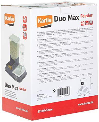 Karlie Flamingo 44046 Futter- und Wasserspender Duo Max 5 Liter - 5