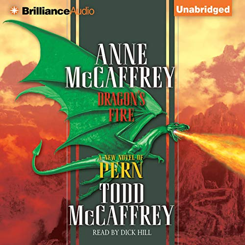 Dragon's Fire audiobook cover art