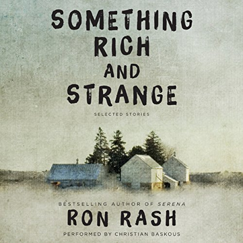 Something Rich and Strange audiobook cover art