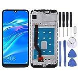 O-OBDO Pantalla LCD de repuesto para Huawei Y7 Pro (2019) Pantalla táctil LCD y digitalizador Asamblea de cristal táctil reemplazo con herramientas de reparación de (color negro)