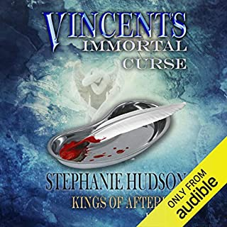 Vincent's Immortal Curse     Kings of Afterlife, Book 1              Written by:                                                                                                                                 Stephanie Hudson                               Narrated by:                                                                                                                                 Zara Hampton-Brown                      Length: 11 hrs and 30 mins     1 rating     Overall 5.0