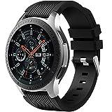 Dirrelo Correa Compatible con Samsung Galaxy Watch 3 45mm/Galaxy Watch 46mm/Huawei GT 2 46mm, 22mm...