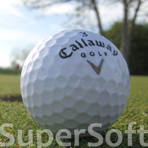 50 Callaway Supersoft lakballes/golfballen - kwaliteit AAAA/AAA - in nettas
