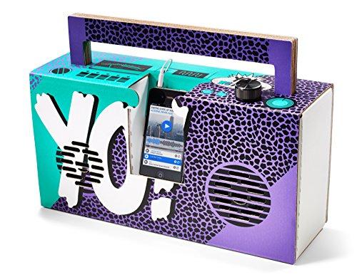 Berlin Boombox Lautsprecher Yo! MTV Raps Lila