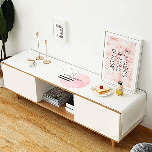 QMZ Tela minimalista moderna mesa de comedor cubierta de gabinete de TV tela impermeable a prueba de aceite anti-escaldado mesa de café bandera de mesa de tela (solo mantel)