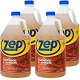 Zep Hardwood and Laminate Floor Cleaner 128 Ounce ZUHLF128 (Case of 4) Pro Grade Formula