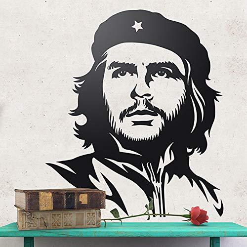 Tianpengyuanshuai Muursticker Cubaanse Revolutie Icoon Klassieke Portret Vinyl Decal muurschildering Kamer Decoratie