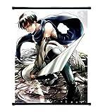 Attack On Titan Anime Levi Wall Scroll mittlere Größe, 40