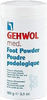 Gehwol, Talco para Pies, Talco Antibacterial Sin Olor 100gm Previene Pie de Atleta - Puede usarse para pies, zapatos & calcetines