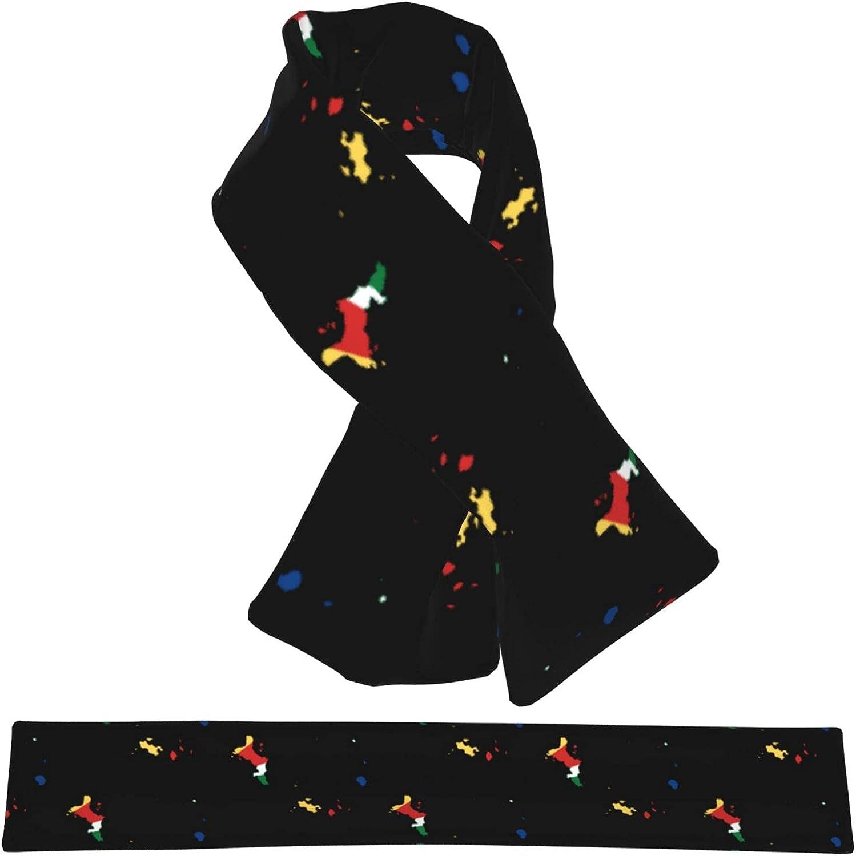Flag Map Of Ranking TOP19 Seychelles Flannel Cross Wrap Scarf Nec Popular brand Shawl Collar