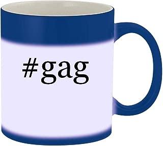 #gag - 11oz Hashtag Magic Color Changing Mug, Blue