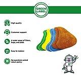 Zoom IMG-2 green label confezione da 8