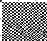 Spoonflower Stoff – Gewellte karierte Rennflagge