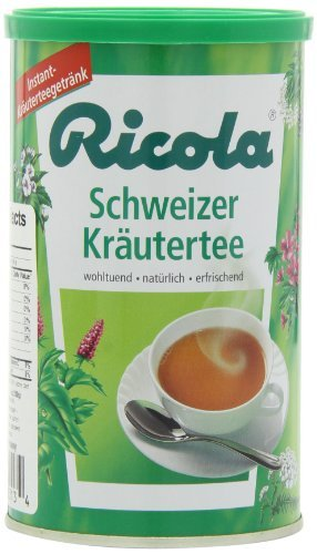 Ricola Schweizer Krautertee (Instant Herb Tea), 7-Ounce Can (Pack of 3) by Ricola