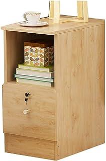YNN Table Table de Chevet 20-25-30-35CM Meuble de Rangement présentoir étagère Chambre Armoire de Coin (Couleur : D, Taill...