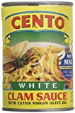 Cento White Clam Sauce Cans, 10.5 Ounce (Pack of 12)