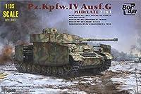 ボーダーモデル 1/35 WW.IIドイツ装甲IV Ausf.Gミッド/最後の期間生産型(2 IN1)プラスチック
