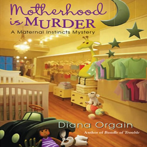 Motherhood Is Murder audiobook cover art
