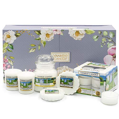 Yankee Candle Clean Cotton Duft-Geschenkset