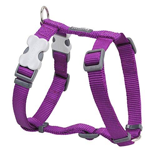 Trilus DH-ZZ-PU-15 Nylon Hundegeschirr, violett, S
