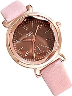 Boys Girls Watches Cuitan Analog Wrist Watch with Soft PU Leather Strap