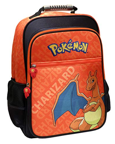 CYP BRANDS Pokémon MC-272-PK Mochila Adaptable a Trolley, Color Naranja