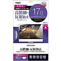 Digio2 液晶保護フィルム 17.0インチ (5:4) 高精細 反射防止 SF-FLH170W