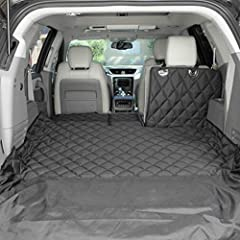 Patented design allows for 60/40 or 50/50 split seat and center cargo pass-through; extra large measures 55 x 106 (including 20 inch bumper flap); US patent 10,343,568 & 9,963,086 Heavy-duty, colorfast 600D polyester; thick UV-coated straps; durable ...