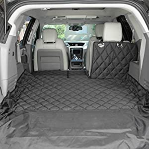 4Knines SUV Cargo Liner for Fold Down Seats – 60/40 Split and Armrest Pass-Through Compatible – USA Based Company