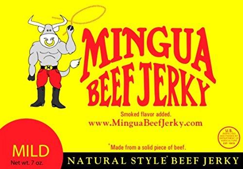 Mingua Beef Jerky (Mild, 7 OZ)
