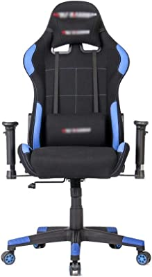 Video Gaming Chair Ergonomic Computer Desk Chair High Back Racing Style Seat Height Adjustment Recliner Swivel Rocker (Color : Picture Color, Size : 70X70X125CM)