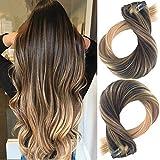 Clip in Haarverlängerung Remy Menschenhaar 8A Brasilianisches Haar 120g 100%
