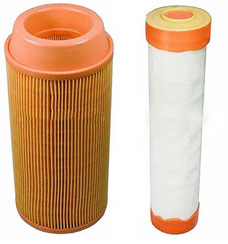 Stens Outer & Inner Air Filter Combo Kubota ZD323 ZD326 ZD331 Zero Turn Lawn Mowers K3181-82240, K3181-82250 -  102-388 102-392