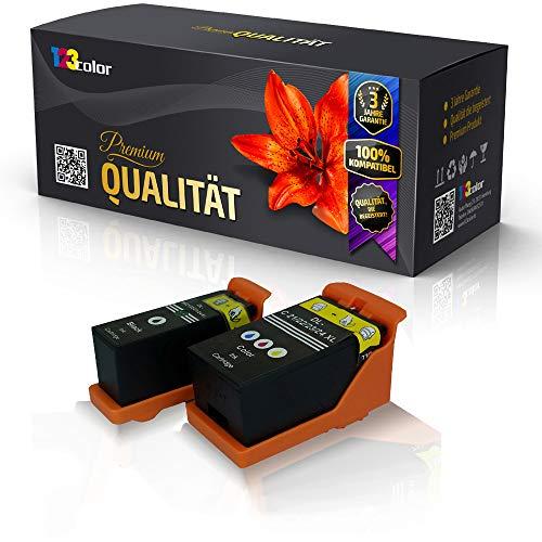 123Color Alternative Tintenpatrone kompatibel fur Dell V510 Series V 515 V515 w V 515 w red V 715 w V715 w Schwarz 592 11331 592 11315 Y498D