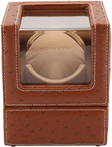 JHSHENGSHI Watch Winders, Watch Winder for 1 Watch Brown Battery, Automatic...