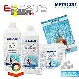 Starter Kit Oxi para tratamiento agua y mantenimiento de spa, jacuzzi y pequeña...