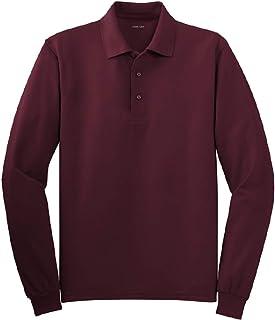 قمصان بولو رجالي بأكمام طويلة من Joe's USA بـ 10 ألوان. المقاسات العادية والطويلة: XS-6XL
