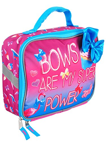 Accessory Innovations JoJo Lunch Box Soft Kit Insulated Cooler Siwa Bows are My Super Power
