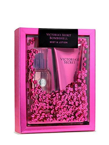 Victoria' Secret Mist & Lotion Set, Dorado