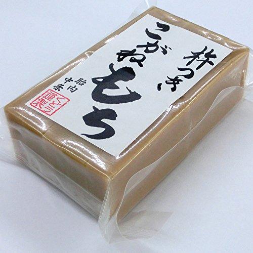 【お歳暮に お正月に】手作り杵つき餅 栃餅(10枚入)/新潟産「こがねもち」使用