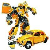ZXZXZX Deformation Auto Spielzeugroboter, Hornissen Krieger Verformung Spielzeug Figur Carapace Ironclad Deformierte Legierung Edition Autoroboter Modell