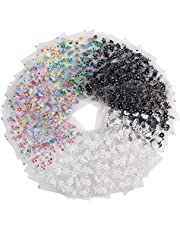 Pegatinas Uñas, Diealles 50 Hojas 3D Pegatina Decoracion para las Uñas Decal DIY Etiqueta Decoración Arte Adhesivos Uñas Pegatinas