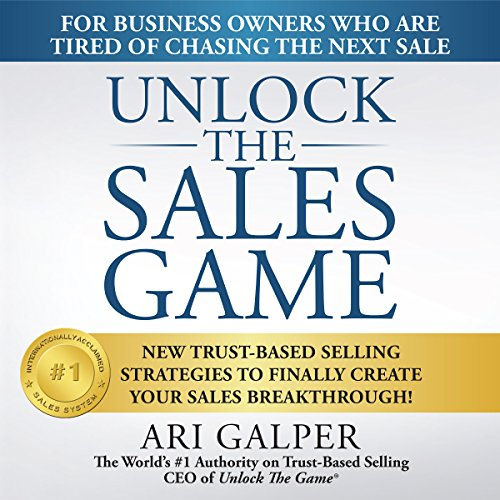 Unlock the Sales Game audiobook cover art
